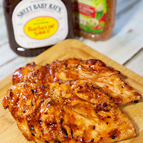 Three Ingredient Italian BBQ Grilled Chicken