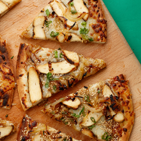 Teriyaki Chicken Flatbread