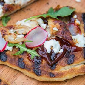 Rotisserie Chicken BBQ Flatbread
