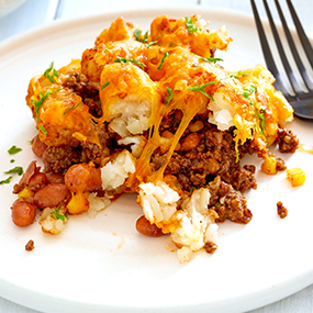 Barbecue Tater Tot Casserole