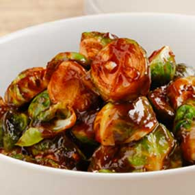 BBQ Chopped Brussels Sprouts