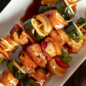 Sweet Teriyaki Chicken Kabobs