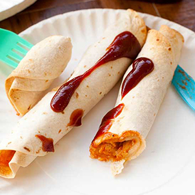 BBQ Chicken Taquitos