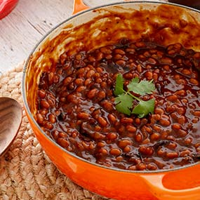 Grilled Bacon Baked Beans