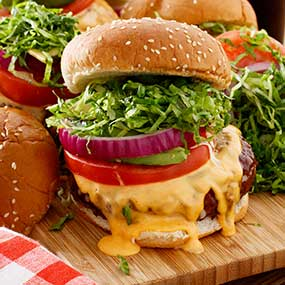 Cheeseburger with Secret Sauce